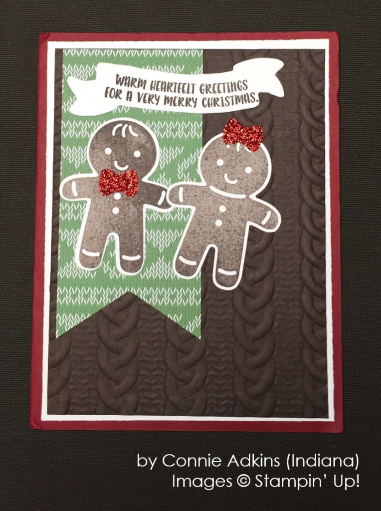 by Connie Adkins, Stampin' Up!