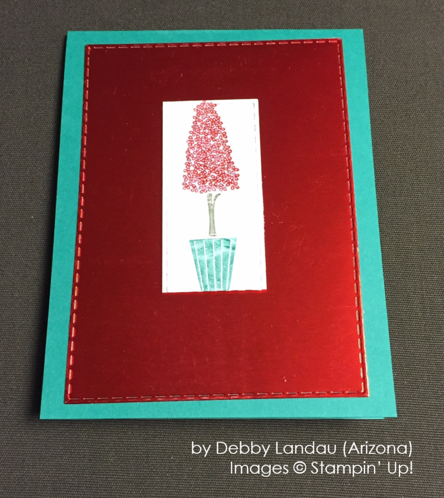 by Debby Laundau, Stampin' Up!, Holiday One-for-One Swap