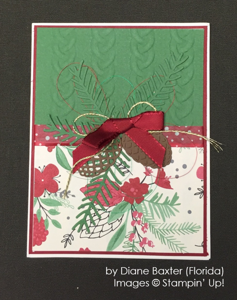 by Diane Baxter, Stampin' Up!