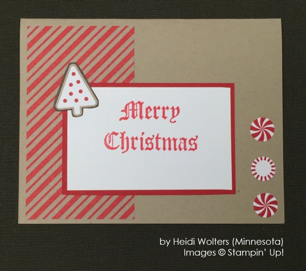 by Heidi Wolters, Stampin' Up!, Holiday One-for-One Swap