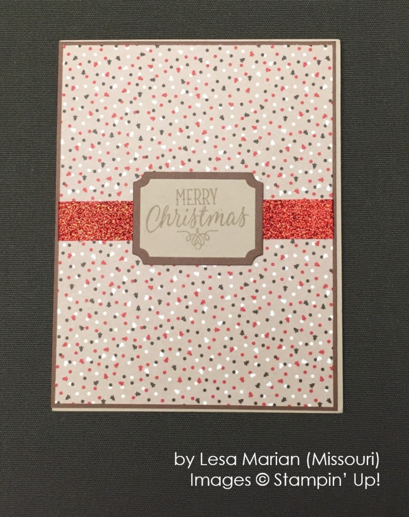by Lesa Marian, Stampin' Up!