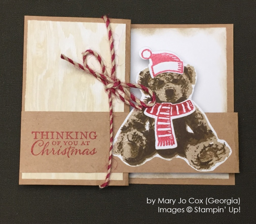 by Mary Jo Cox, Stampin' Up!