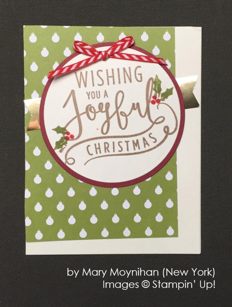 by Mary Moynihan, Stampin' Up!