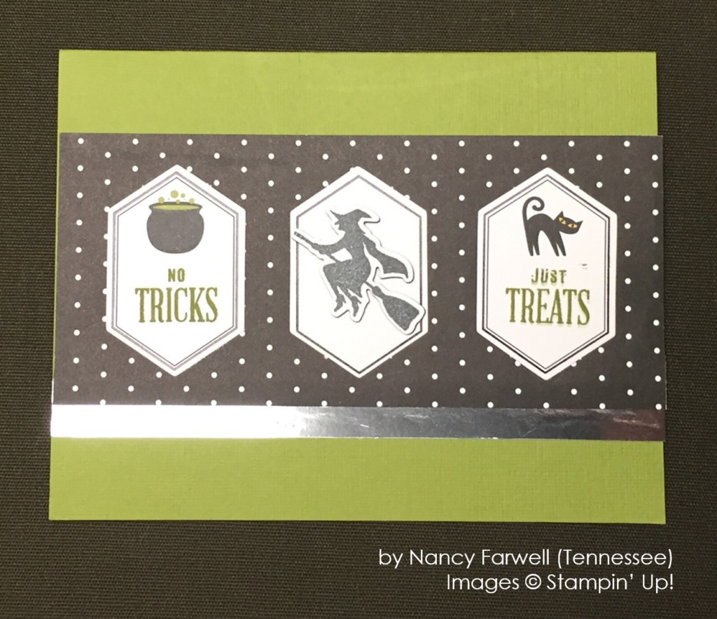 by Nancy Farwell, Stampin' Up!