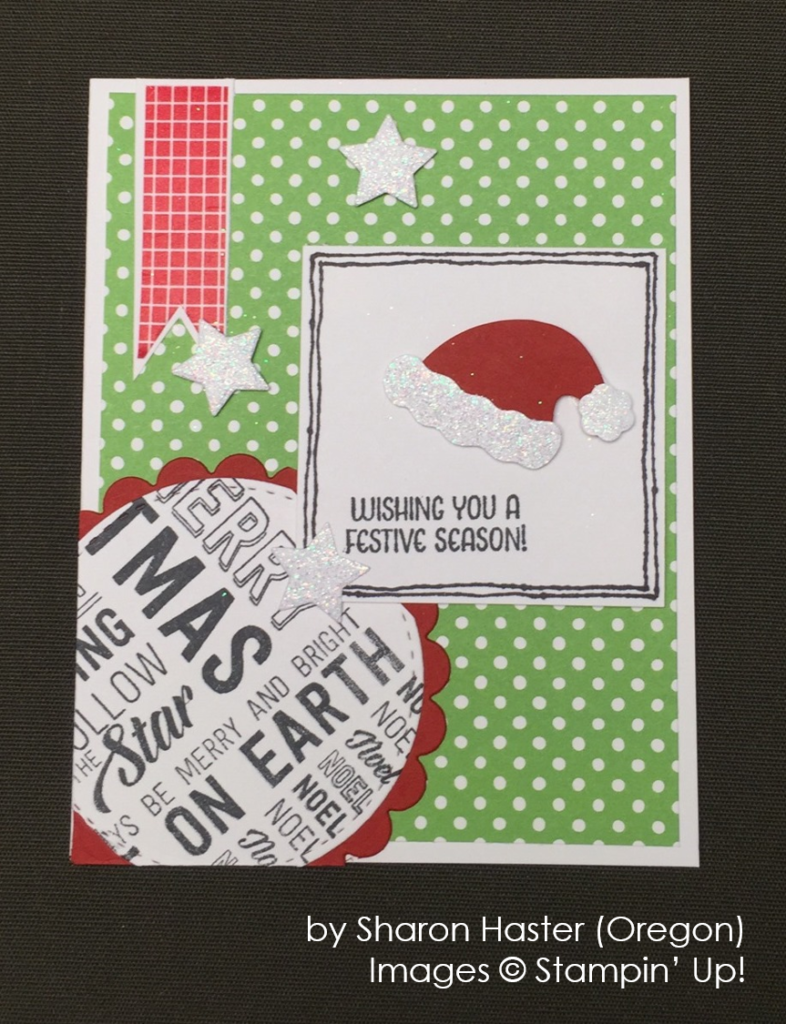 by Sharon Haster, Stampin' Up!