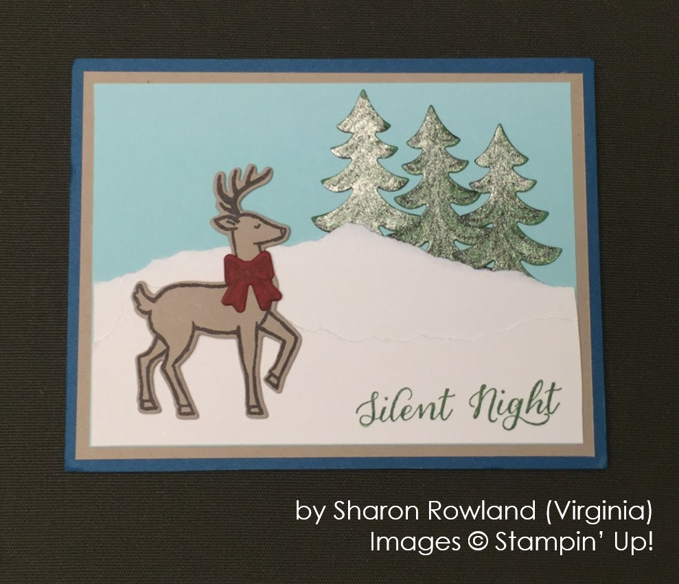 by Sharon Rowland, Stampin' Up!