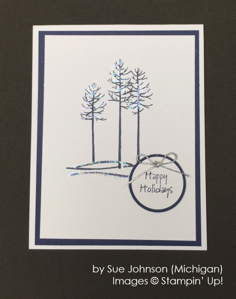 by Sue Johnson, Stampin' Up!, Holiday One-for-One Swap