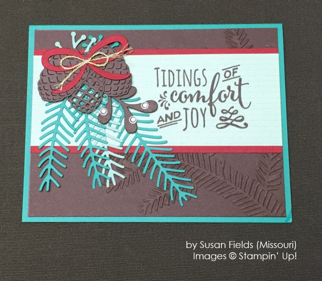 by Susan Fields, Stampin' Up!, Holiday One-for-One Swap