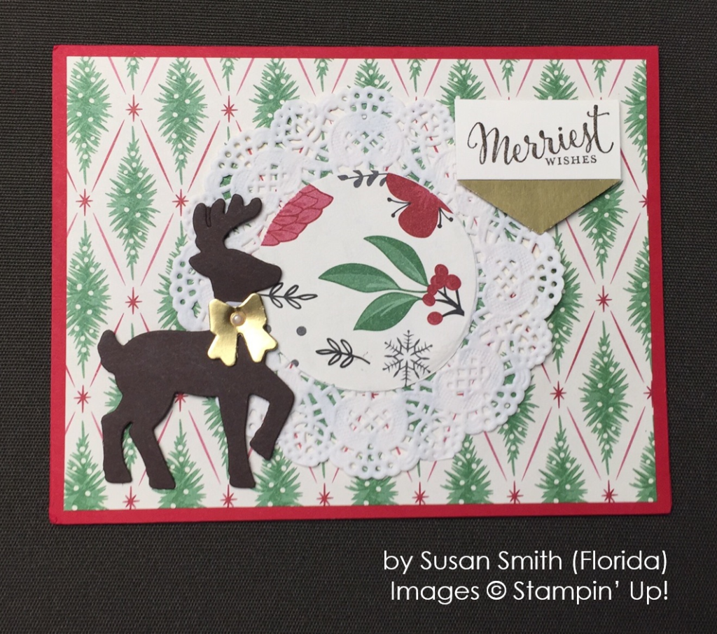 by Susan Smith, Stampin' Up!, Holiday One-for-One Swap