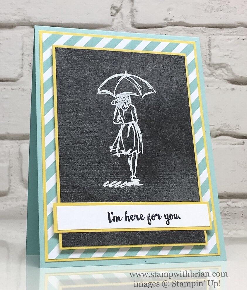 Beautiful You, Here for You, Urban Underground Specialty Designer Series Paper, Stampin' Up!, Brian King