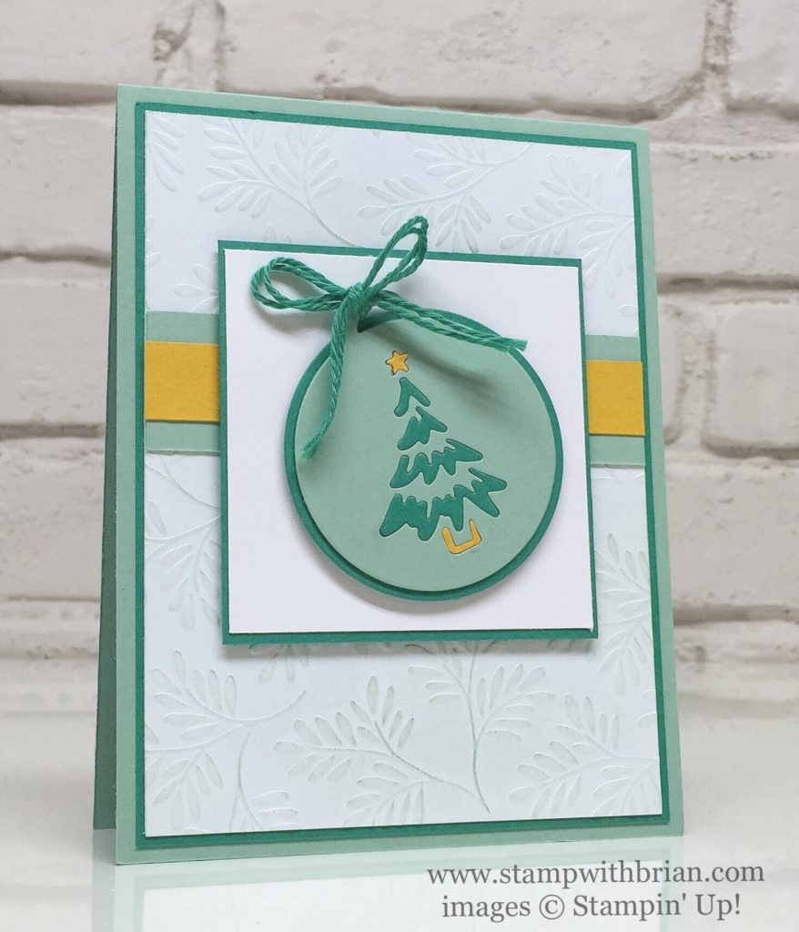 Merry Tags Framelits, Fancy Frost Designer Series Paper, Stampin' Up!, Brian King
