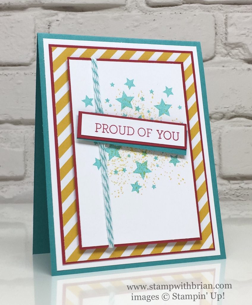 Crazy About You, Touches of Texture, Perpetual Birthday Calendar, Stampin' Up!, Brian King, GDP066