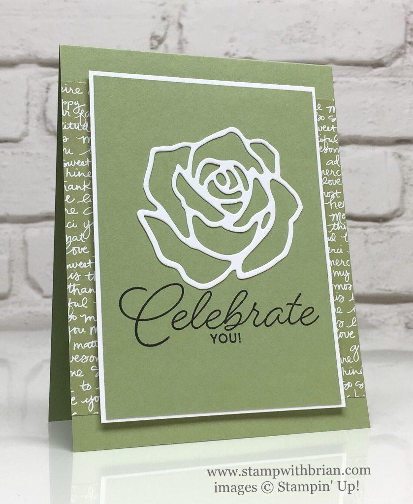 Rose Garden Thinlits, Birthday Blast, Stampin' Up!, Brian King, CTS202