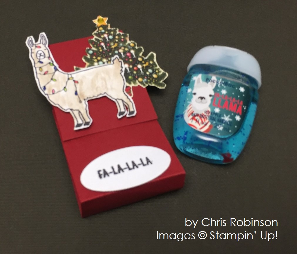 by Chris Robinson, Stampin' Up!, Christmas cards
