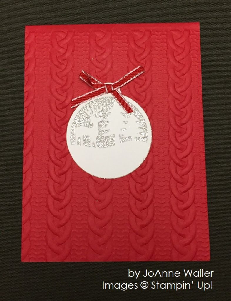 by JoAnne Waller, Stampin' Up!, Christmas cards