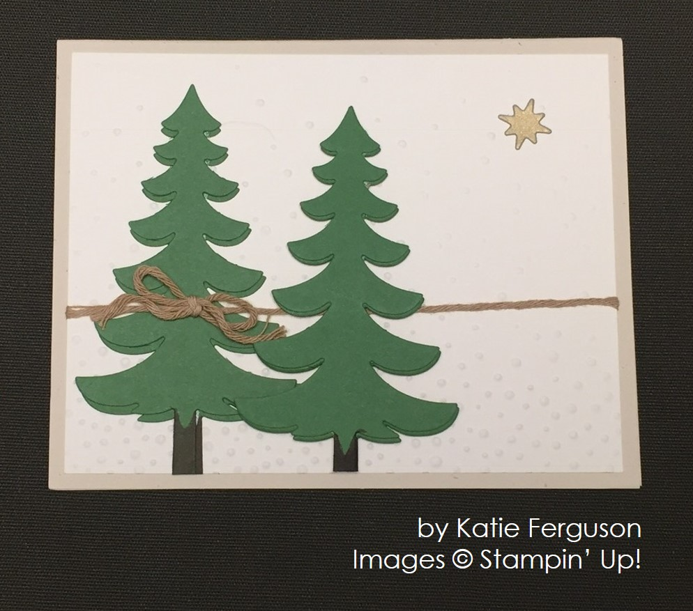 by Katie Ferguson, Stampin' Up!, Christmas cards