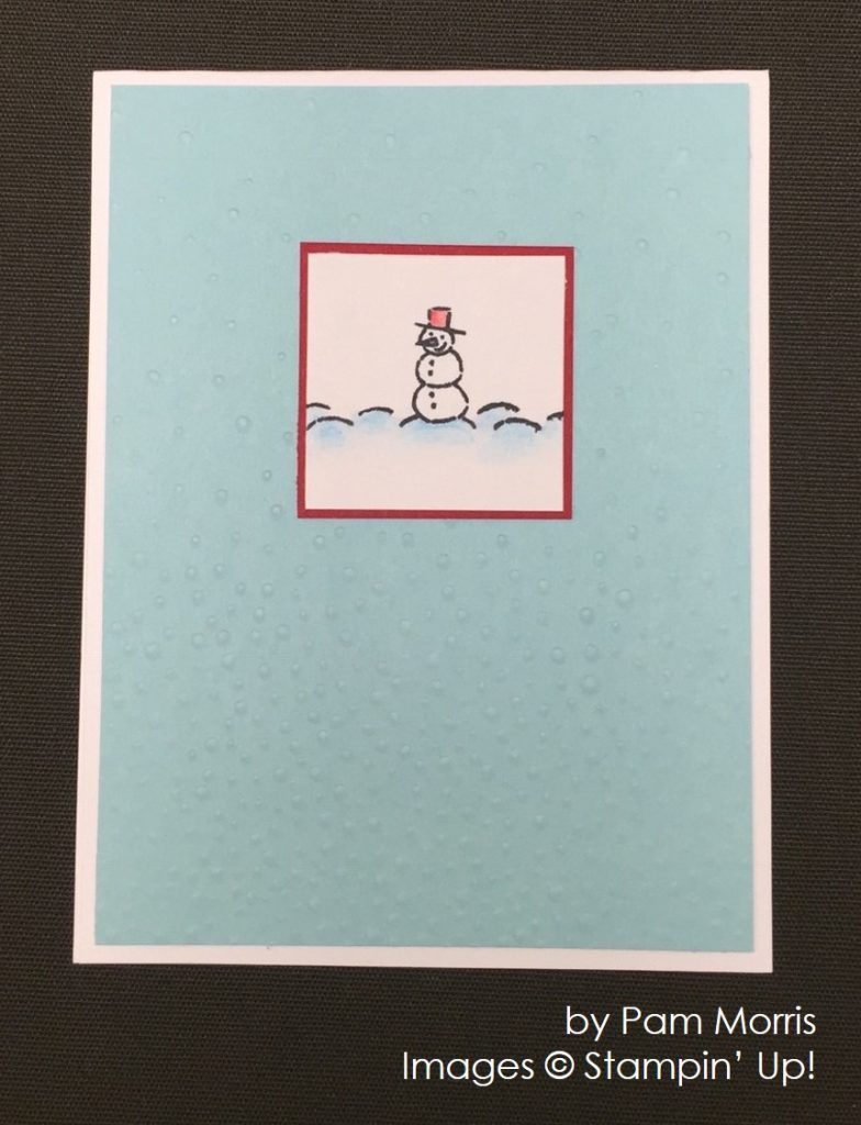 by Pam Morris, Stampin' Up!, Christmas cards