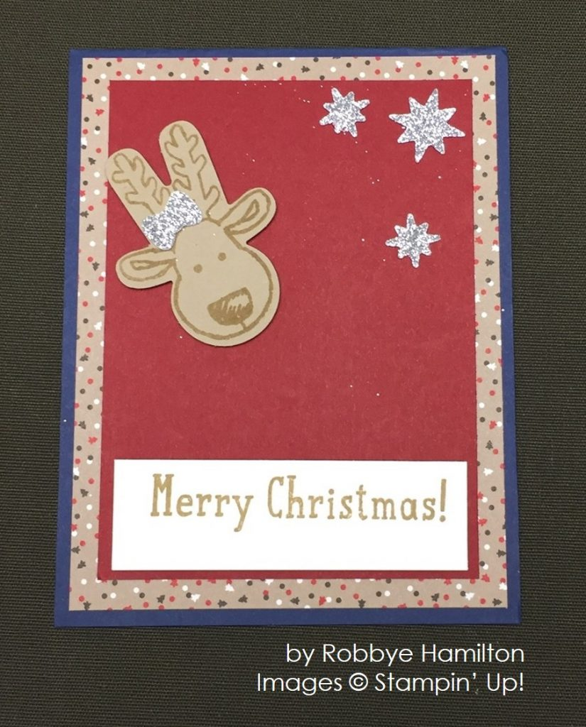 by Robbye Hamilton, Stampin' Up!, Christmas cards
