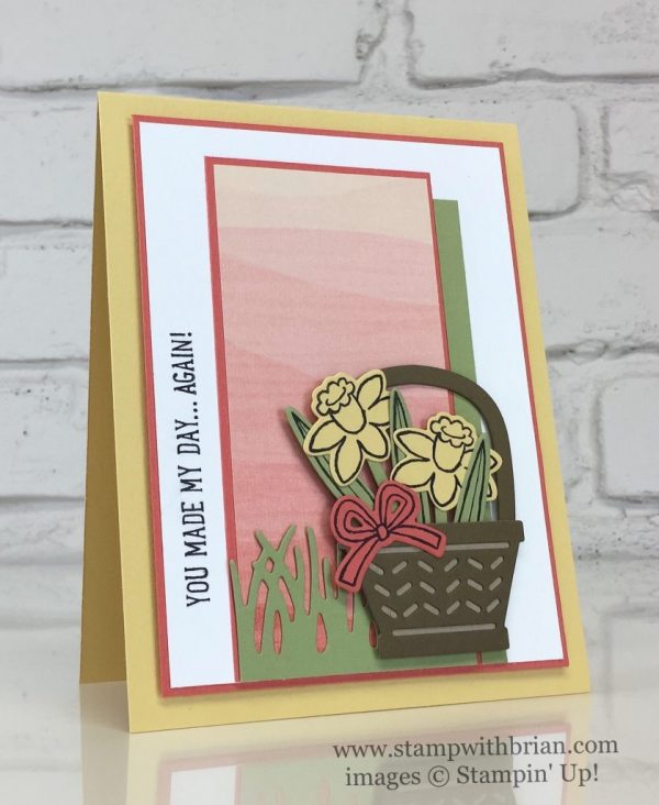 Basket Bunch, Stampin' Up!, Brian King, FMS