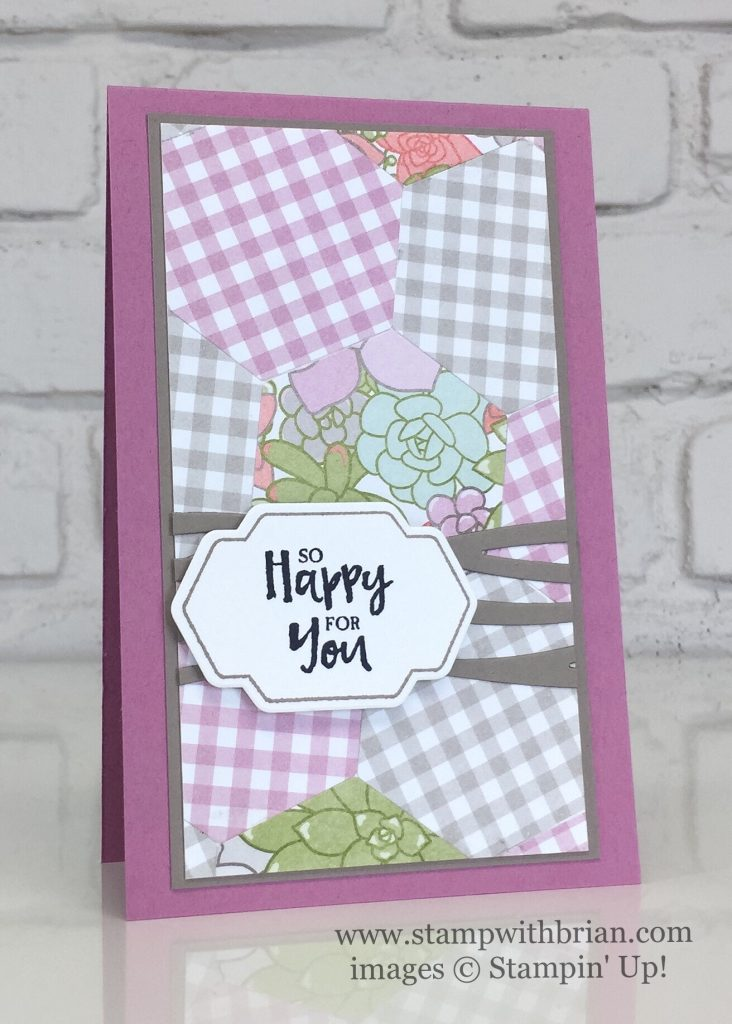 Beautiful You, Special Reason, Succulent Garden Designer Series Paper, Stampin' Up!, Brian King