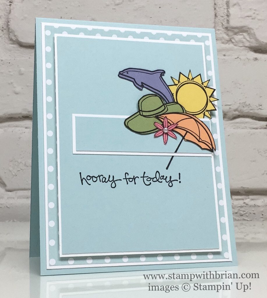 Day at the Beach, Greatest Greetings, Stampin' Up!, Brian King, FMS272