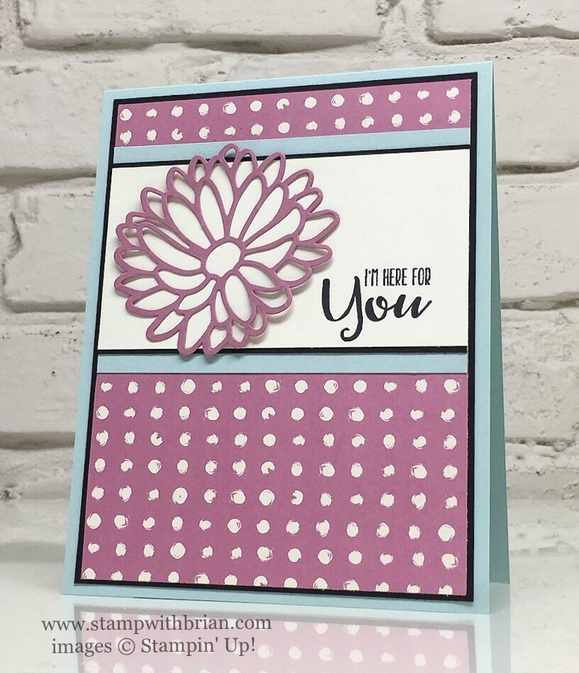 Sending Thoughts, Stylish Stems Framelits Dies, Playful Palette Designer Series Paper, Stampin' Up!, Brian King