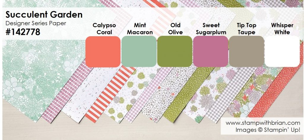 2017 occasions catalog designer series papers colors for Landscape design paper
