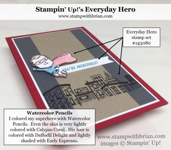 Everyday Hero, Stampin' Up!, Brian King, GDP076