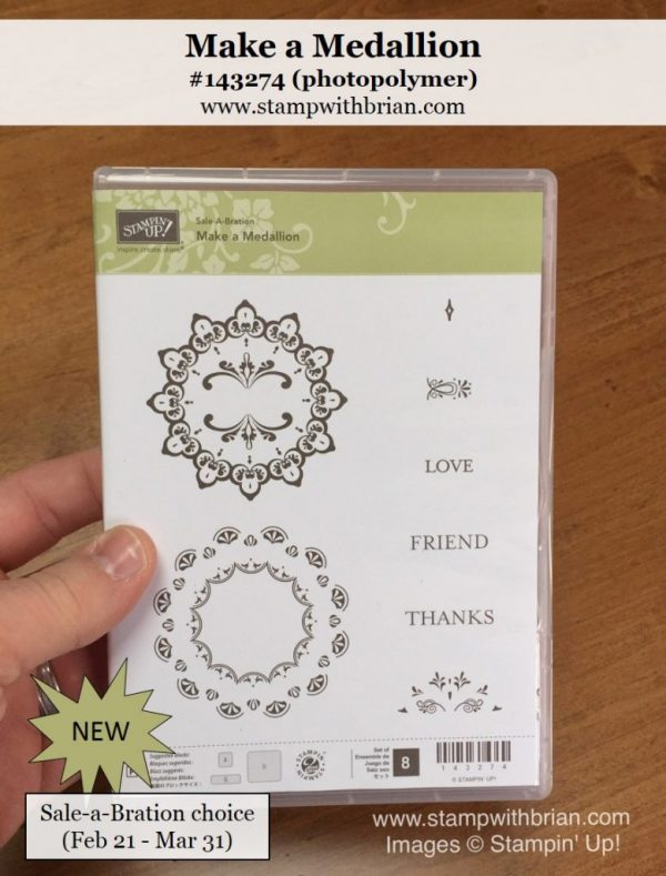 Make a Medallion, Stampin' Up!