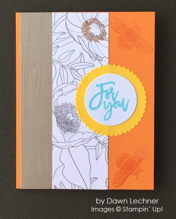 by Dawn Lechner, Stampin' Up! swap