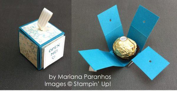 by Mariana Paranhos, Stampin' Up! swap
