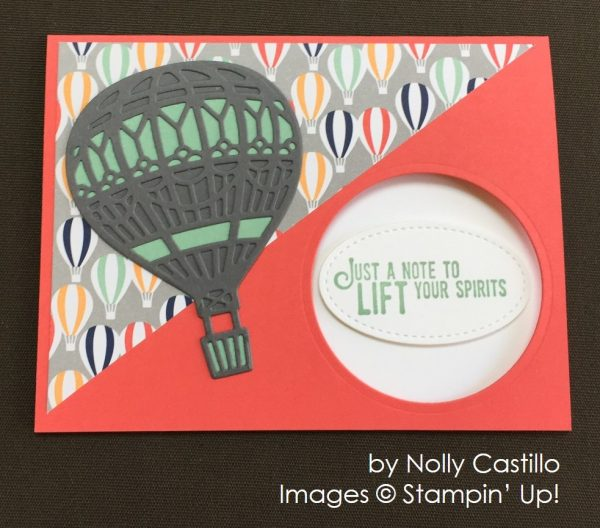by Nolly Castillo, Stampin' Up! swap card