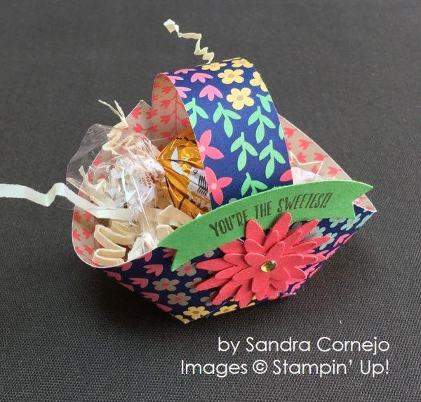 by Sandra Cornejo, Stampin' Up! swap