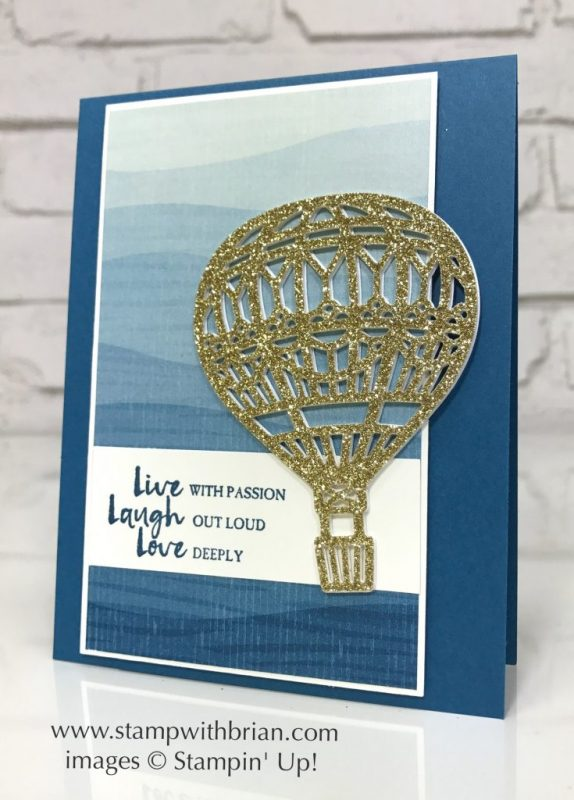 Beautiful You, Up & Away Thinlits Dies, By the Shore Designer Series Paper, Stampin' Up!, Brian King