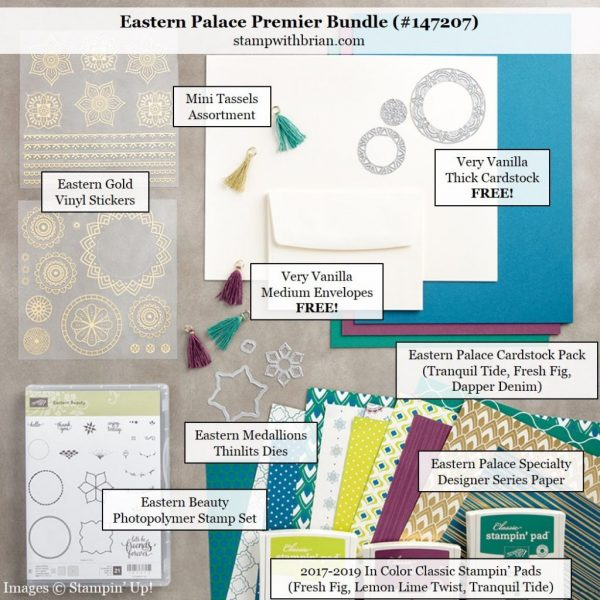 Eastern Palace Premier Bundle, Stampin' Up!, Brian King