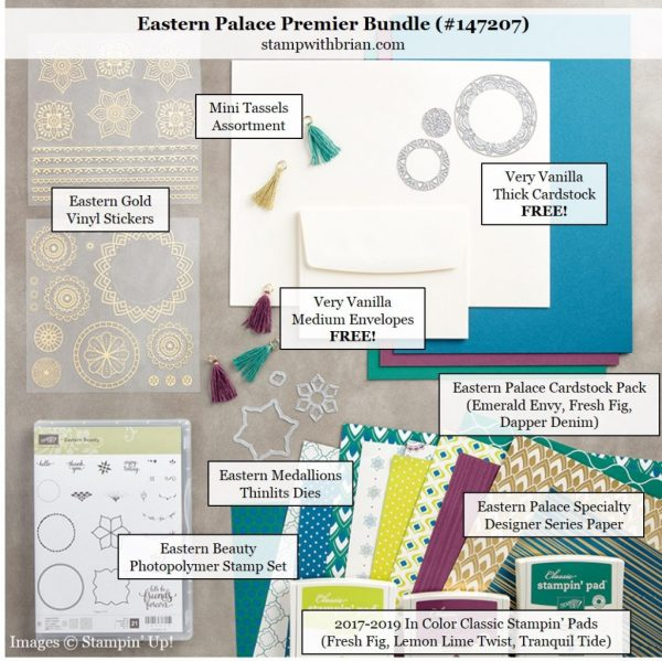 Early Release Eastern Palace Suite Stamp With Brian