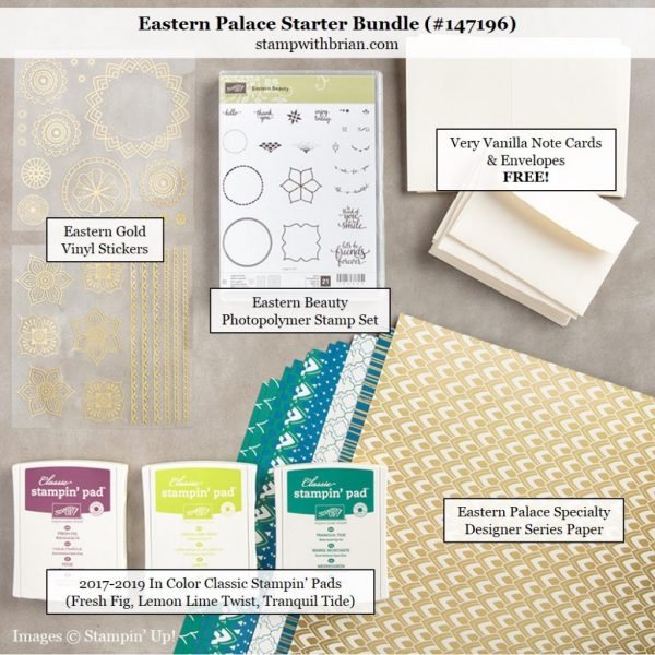 Eastern Palace Starter Bundle, Stampin' Up!