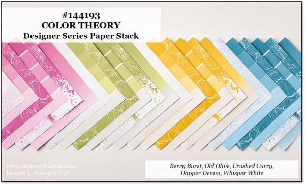 Color Theory Designer Series Paper Stack, Stampin' Up!