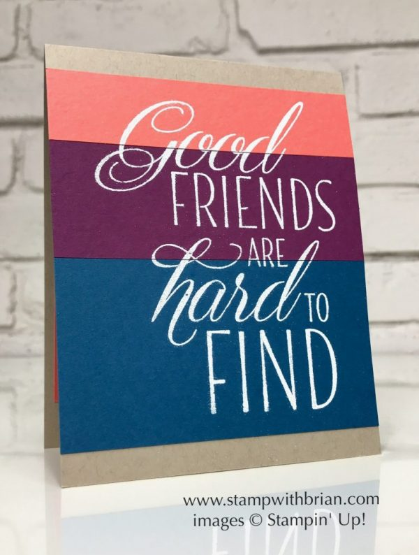 Lovely Friends, Stampin' Up!, Brian King, FabFri112