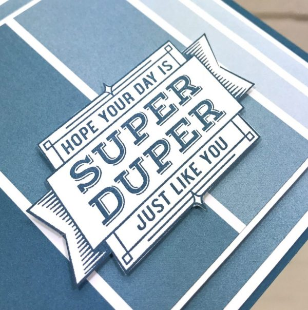 Super Duper, Color Theory Designer Series Paper, Stampin' Up!, Brian King