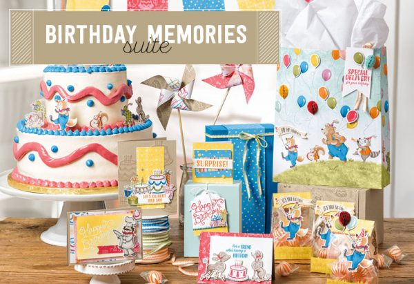Birthday Memories Suite, Stampin' Up!