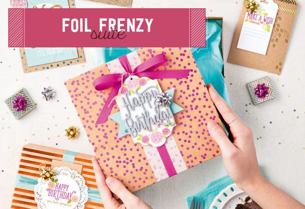 Foil Fenzy Suite, Stampin' Up!
