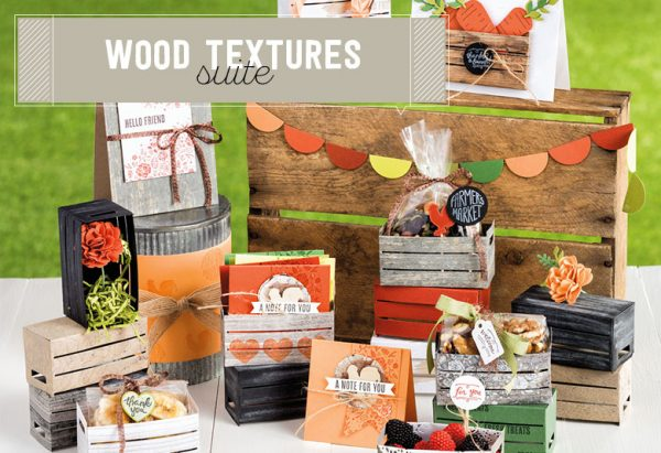 Wood Textures Suite, Stampin' Up!