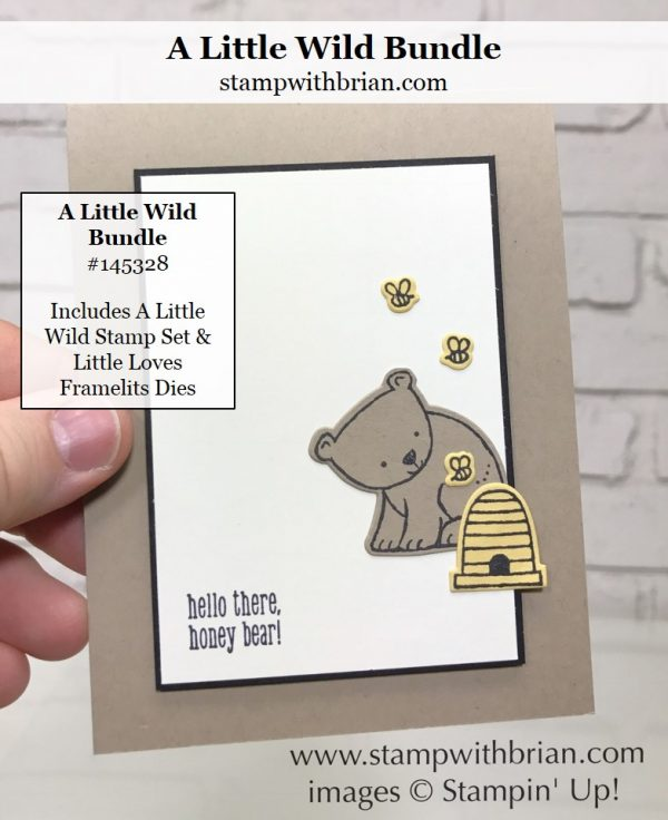 A Little Wild, Stampin' Up!, Brian King, CTS227