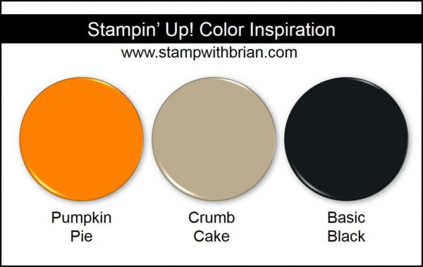 Stampin' Up! Color Inspiration: Pumpkin Pie, Crumb Cake, Basic Black