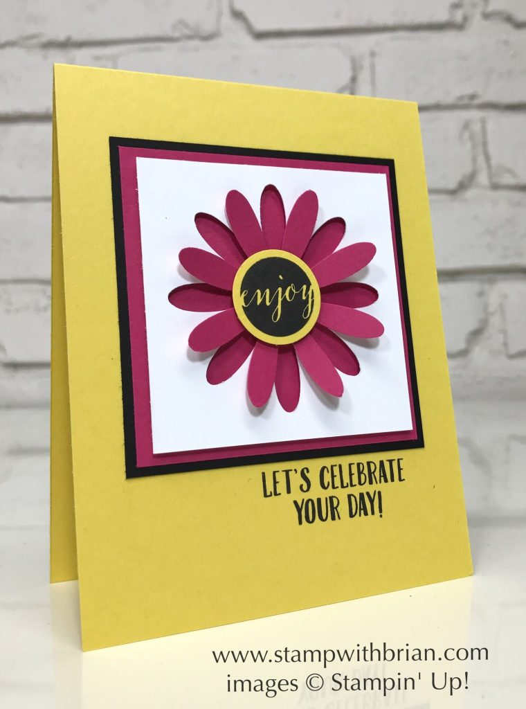 Daisy Punch, Ready to Pop, Birthday Delivery, Stampin' Up!, Brian King