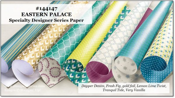 Eastern Palace Specialty Designer Series Paper, Stampin' Up!