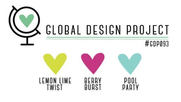 Stampin' Up! Color Inspiration: Lemon Lime Twist, Berry Burst, Pool Party