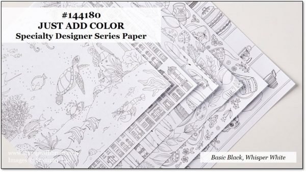 Just Add Color Specialty Designer Series Paper, Stampin' Up!