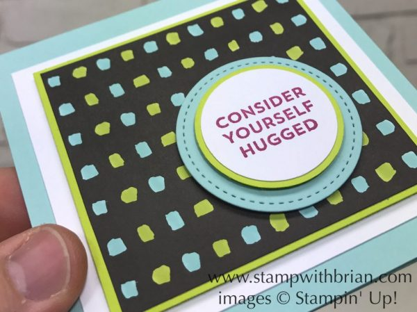 Lots of Love, Pick a Pattern Designer Series Paper, Stampin' Up!, Brian King